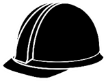 Hard hat graphic