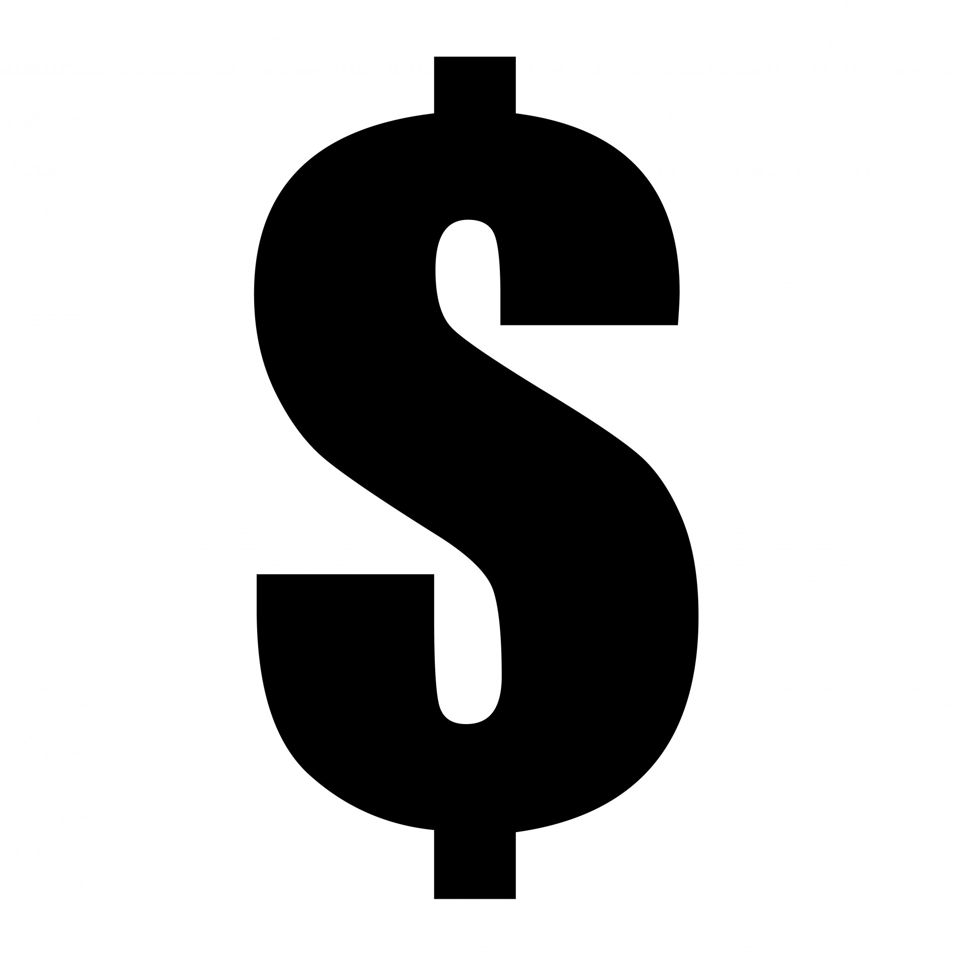 Dollar sign graphic